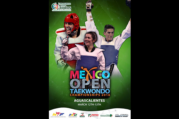 M xico open tkd 2016 palestra aguascalientes for Espectaculos mexico 2016