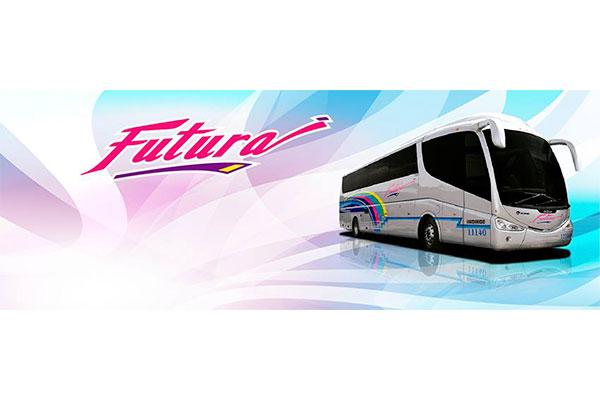 Asaltan Autobús de Futura en Cosío
