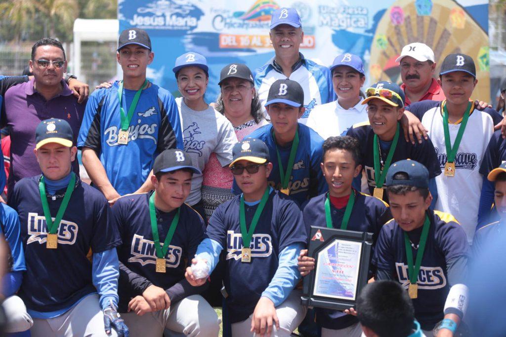 Brujos de Jesús María Campeones del Torneo Nacional Juvenil de Béisbol