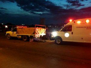 Motociclista Muere al Chocar Contra Camión Cargado de Ladrillos