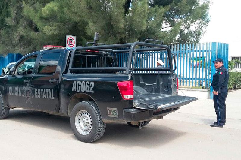 Estatales Salvan a Abuelito que era Atacado por Enjambre de Abejas