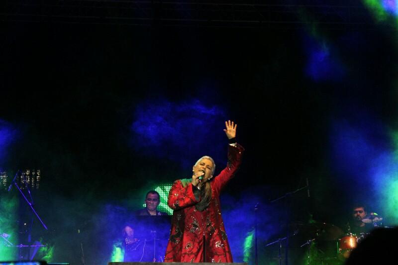 Eugenia León en el Festival por el 441 Aniversario de la Ciudad