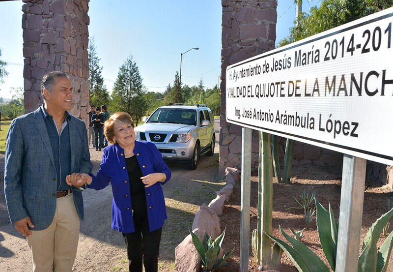 Anuncia Municipio de Jesús María Cambios de Nomenclatura