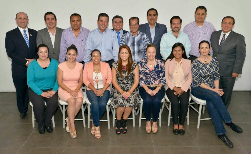 Se Reúne Tere Jiménez con Diputados Electos del PAN