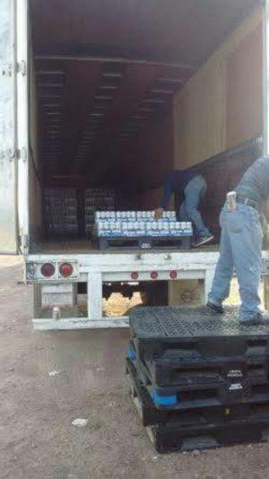 Estatales Recuperan Tráiler Robado con 46 mil Latas de Cerveza Corona