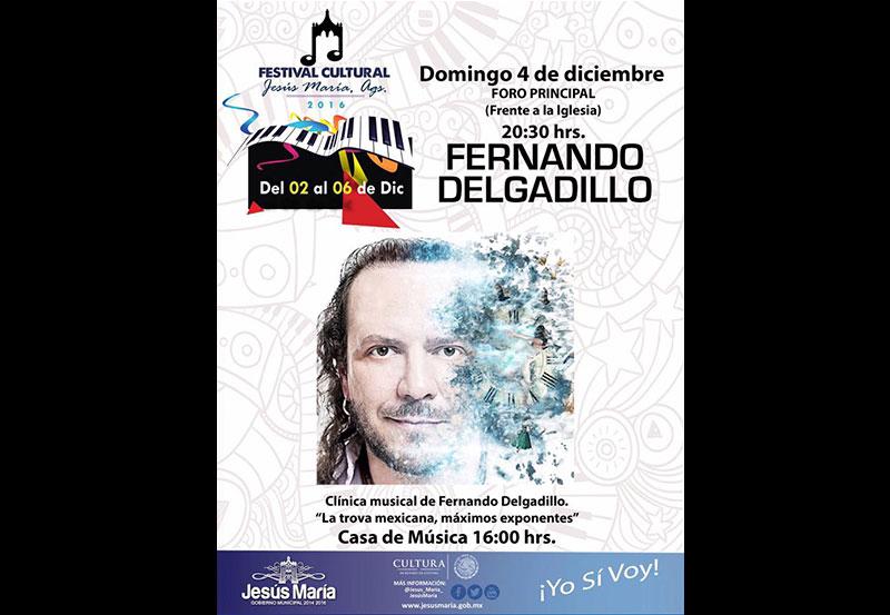 Fernando Delgadillo en Festival Cultural 2016 de Jesús María