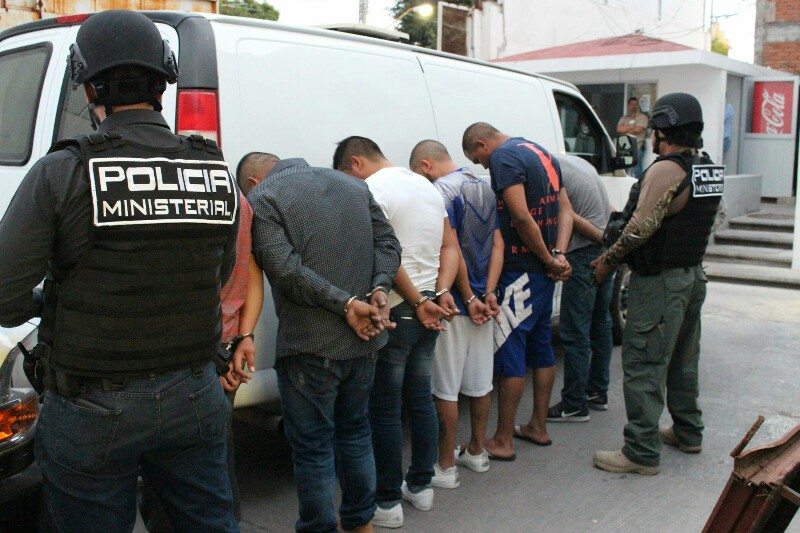 PGR Mantendrá en Prisión Preventiva por dos Meses a los Seis Sujetos Detenidos en Del Valle