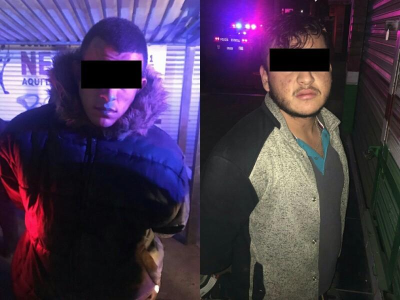 Detenidos con Droga, Arma y Chaleco Antibalas