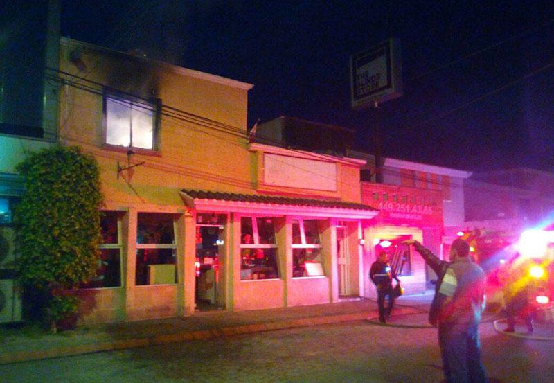 Incendio en Casa de Jardines de la Concepción