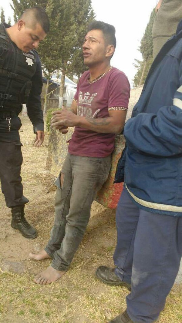 Policías  Evitan que Persona se Suicide en Rincón de Romos