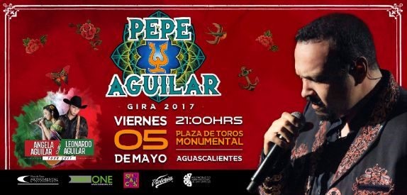 Pepe Aguilar en la Feria Nacional de San Marcos 2017