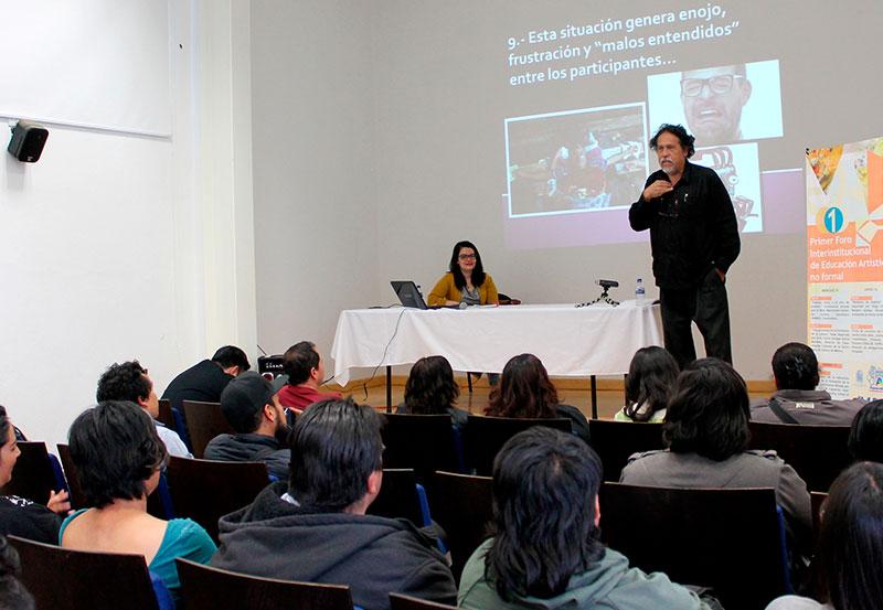 Primer Foro Interinstitucional de Educación Artística no Formal