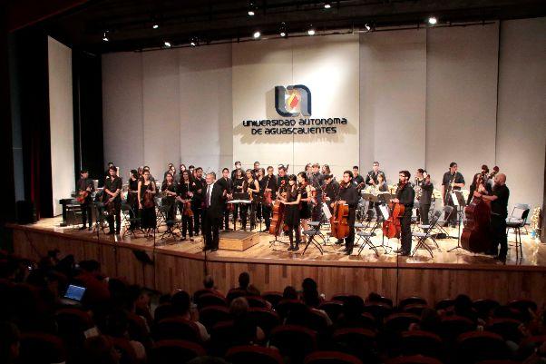 Orquesta Filarmónica de la UAA Inició Programa de Conciertos 2017