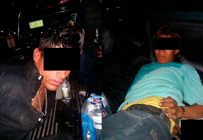 Detienen a dos Cristaleros Originarios de Baja California