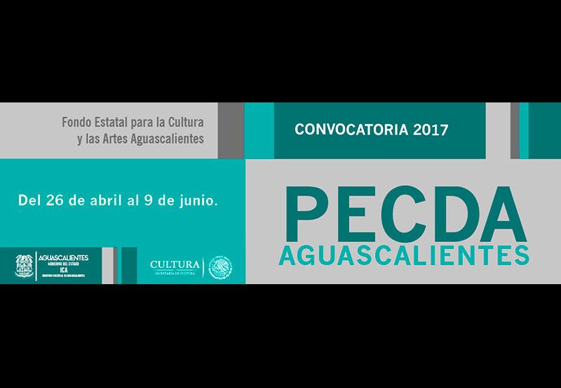 Abierta la Convocatoria del Programa de Estímulo a la Creación y al Desarrollo Artístico (PECDA) 2017