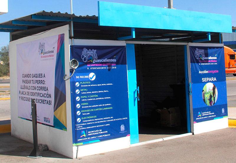Municipio Cuenta con Once Centros de Acopio de Materiales Para Reciclaje