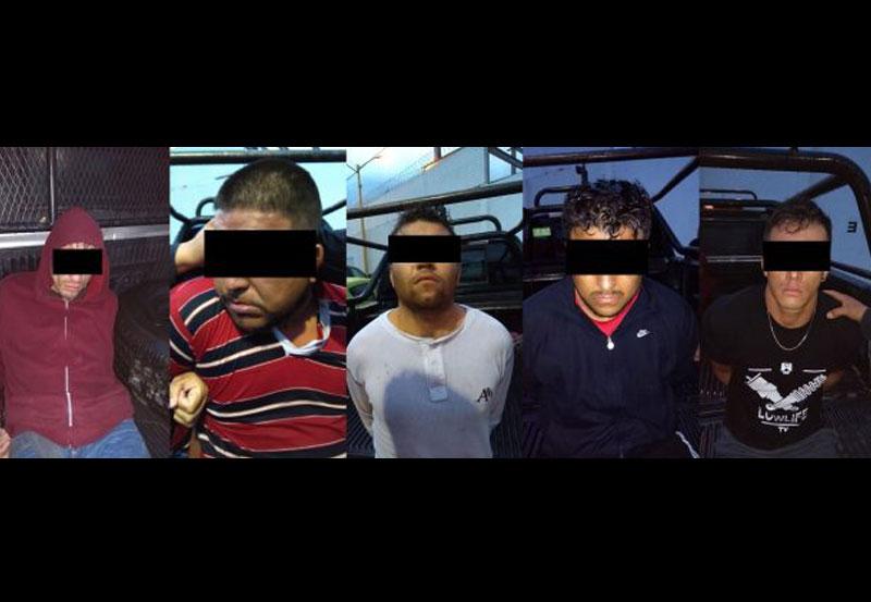 Pueden Obtener su Libertad Tres de los Cinco Asaltantes Capturados Hace una Semana