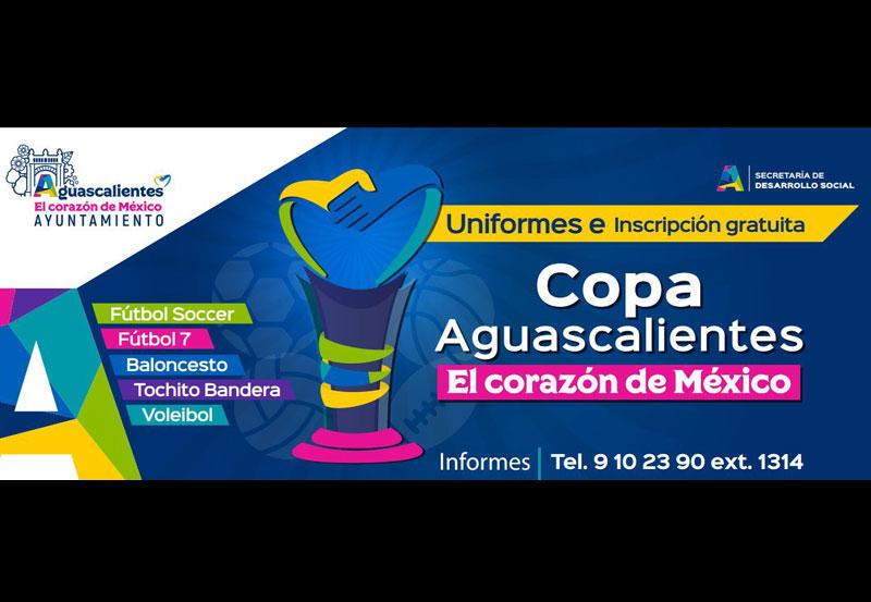 Extienden Convocatoria en Tres Disciplinas de la Copa Aguascalientes