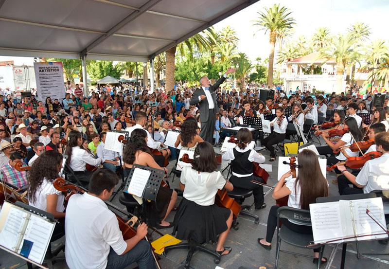 Comparten Escenario las dos Orquestas Infantiles de JM