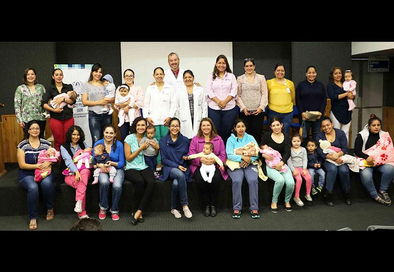 Promueve IAM Acciones a Favor de la Lactancia Materna