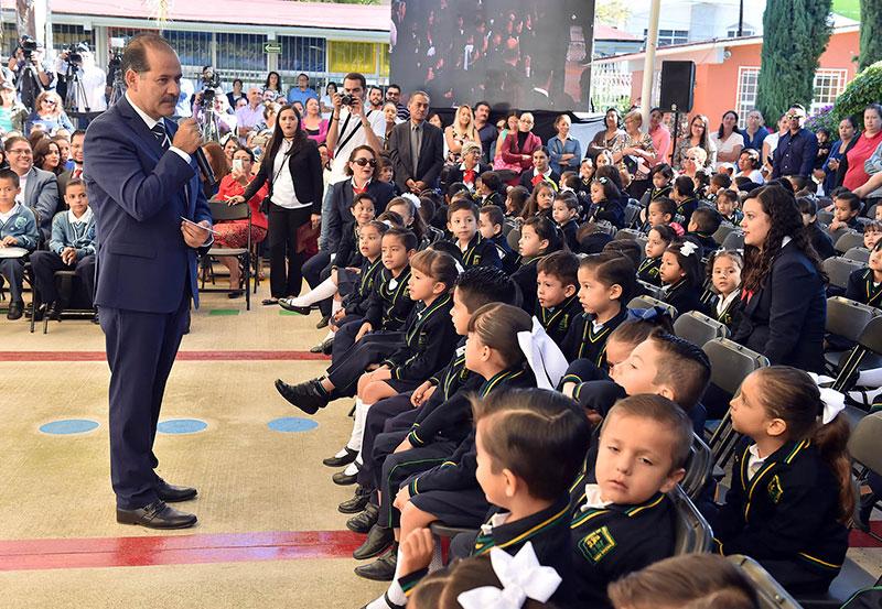 Impulso a la Educación es Clave en el Desarrollo del Estado: MOS
