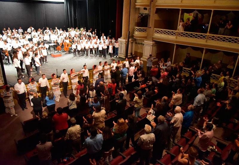 Concierto de Gala de la OSCI Dando Muestra de Talento y Disciplina
