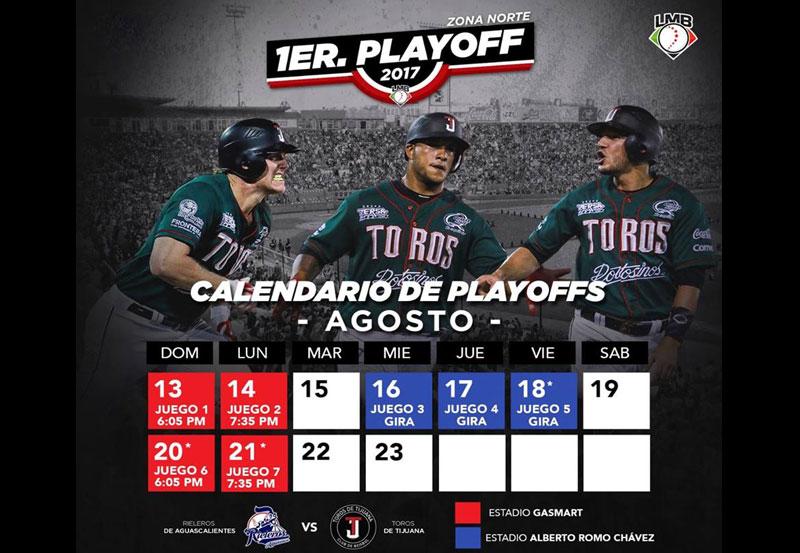 Rieleros Visita a Tijuana al Arrancar los Playoffs