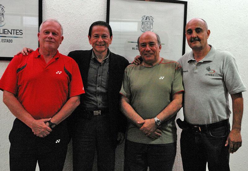 Titular del IDEA se Reúne con Autoridades Internacionales del Badminton