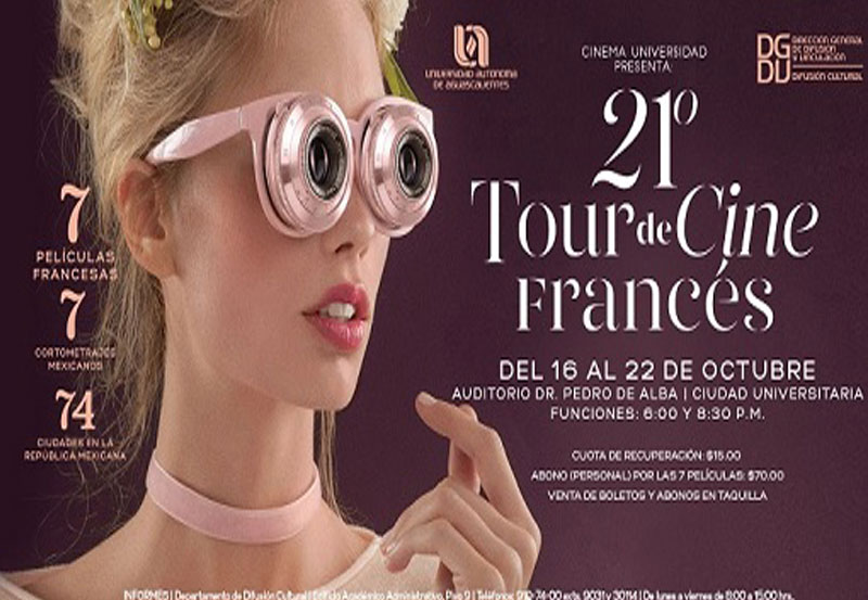 21 Tour de Cine Francés en la UAA