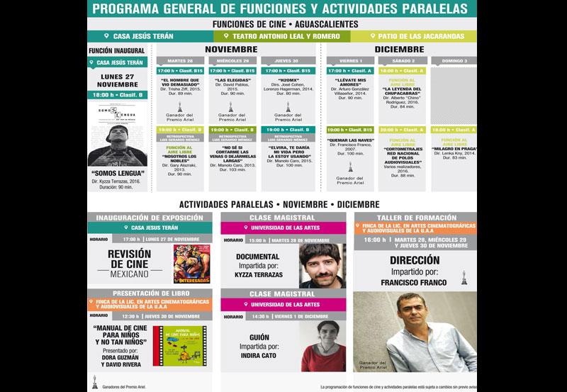 Llega a Aguascalientes la Semana de Cine Mexicano en tu Ciudad