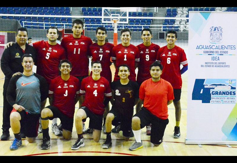 ITA Sorprende y es Campeón Estatal de Voleibol Varonil Universitario