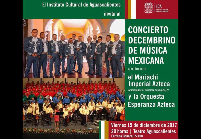 Concierto Navideño con Música Mexicana