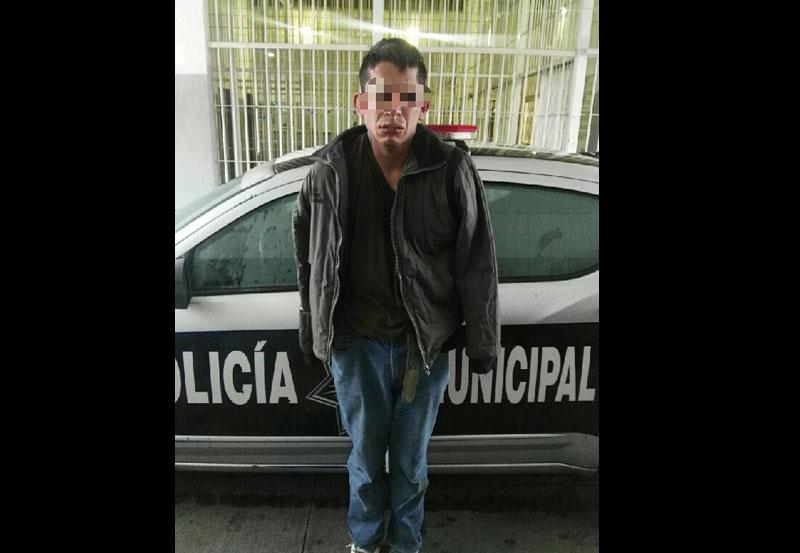 Policías Capturan a Ladrón Domiciliario