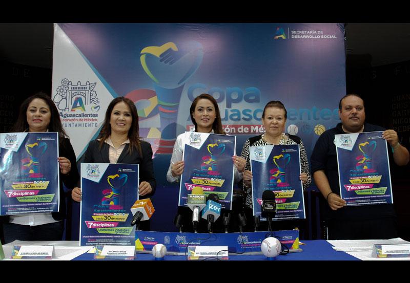 Presentan Copa Aguascalientes 2018