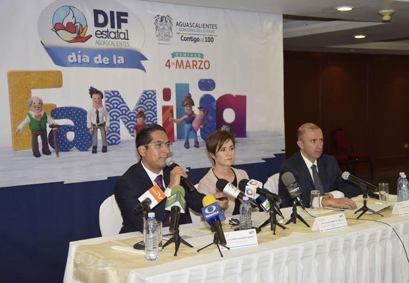 DIF Estatal Anuncia Festejo por el Día de la Familia