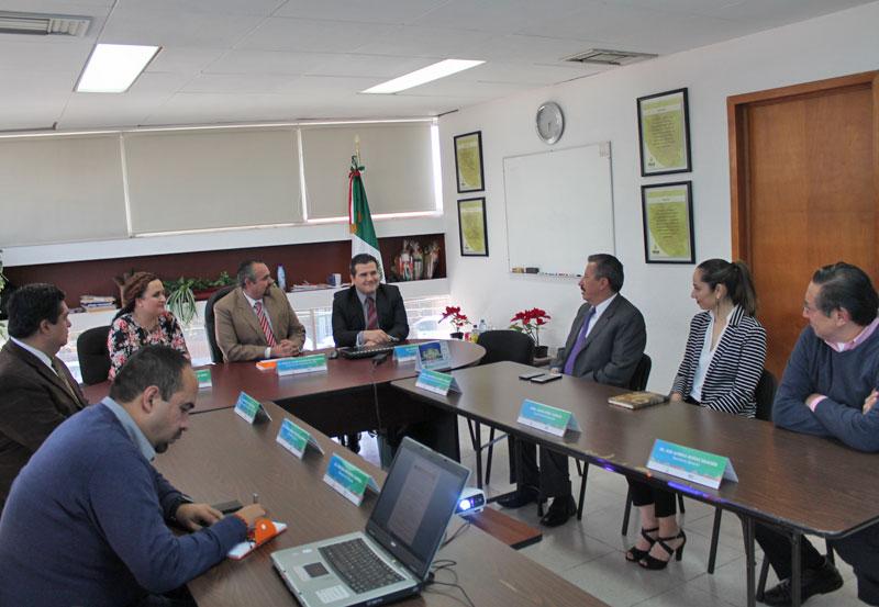 Comisionados del ITEA se reúnen con la Comisión Estatal de Derechos Humanos
