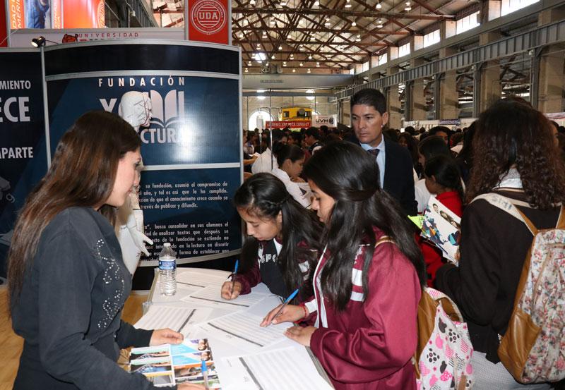 IEA Realiza Expo Educación Media 2018