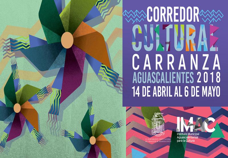Presentan Programa del Corredor Cultural Carranza