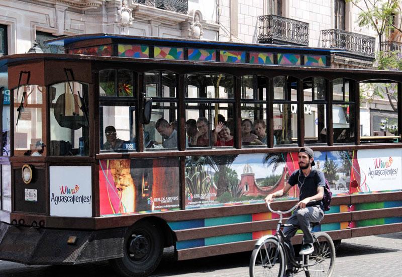 Muy Activo el Tranvía Turístico en la FNSM 2018