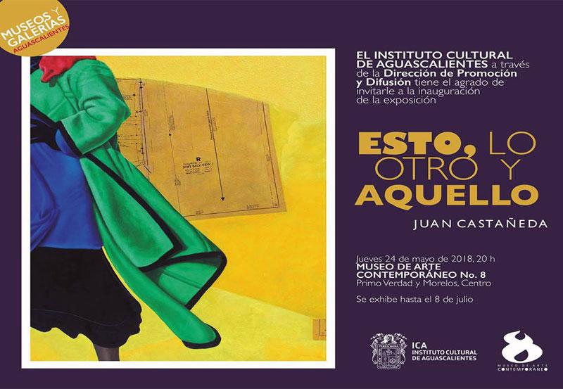 Exposición del Maestro Juan Castañeda en el MAC No. 8