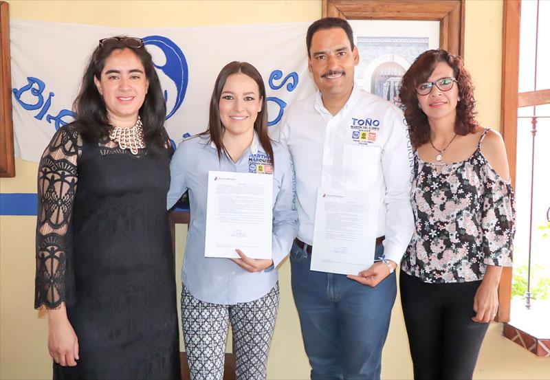 Se une Martha Márquez al Pacto por la Primera Infancia