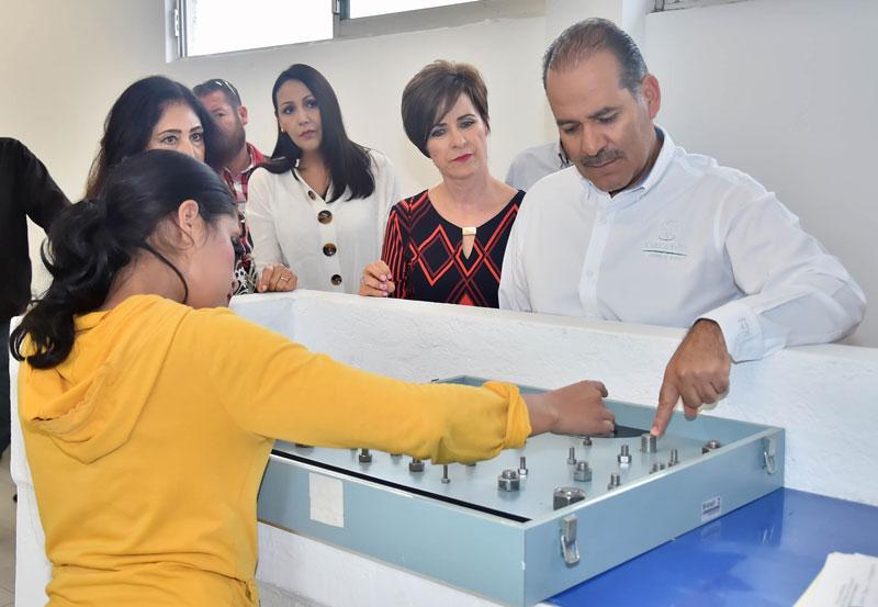 Visita MOS Nuevas Instalaciones del DIF Estatal