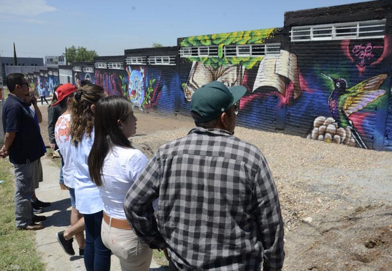 Incentiva IAJU las Habilidades de los Jóvenes en el Arte Urbano