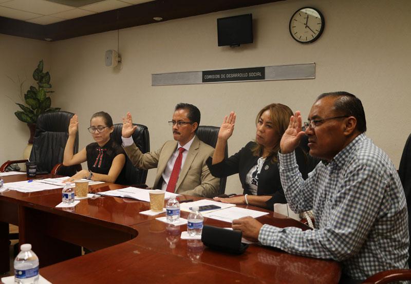 Diputados Aprueban Reforma a la ley Estatal de Desarrollo Social
