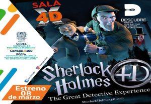 """Museo Descubre Estrena la Película """"Sherlock Holmes"""" en la Sala 4D"""