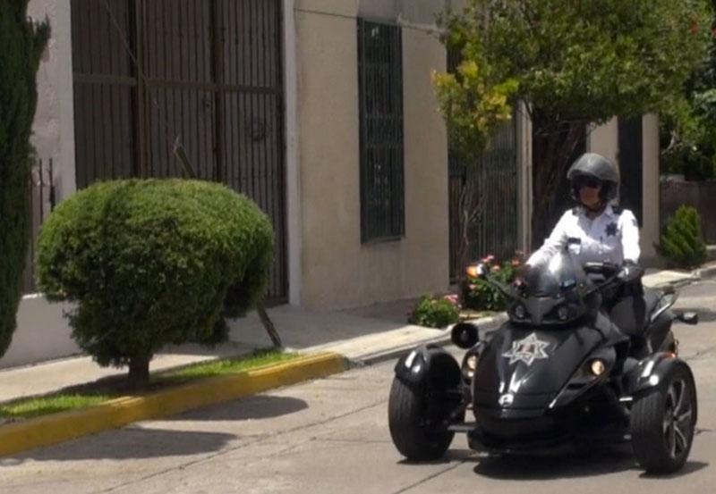 Saúl Conducía Motocicleta con Alteraciones y fue Detenido
