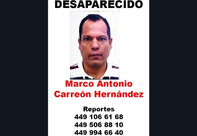 ¡Se Busca a Marco Antonio Carreón Hernández!