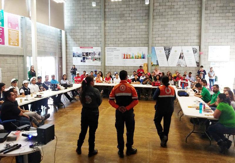 SEGGOB Realiza Actividades Para Difundir una Cultura Preventiva en Materia de Protección Civil