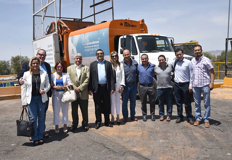 Municipio de Aguascalientes Comparte Experiencias Exitosas con Alcalde de el Salvador