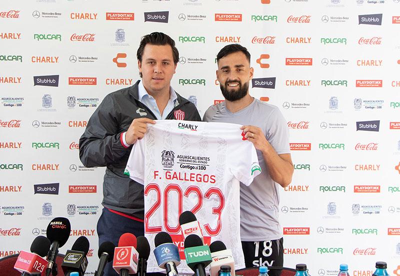 Felipe Gallegos Renueva con Club Necaxa Hasta el 2023